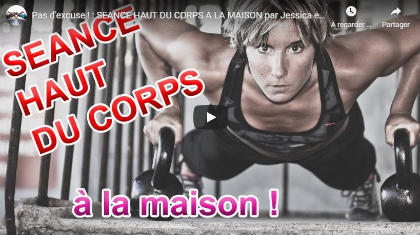 Pas d'excuse ! : SEANCE HAUT DU CORPS A LA MAISON par Jessica et Sabrina BUIL