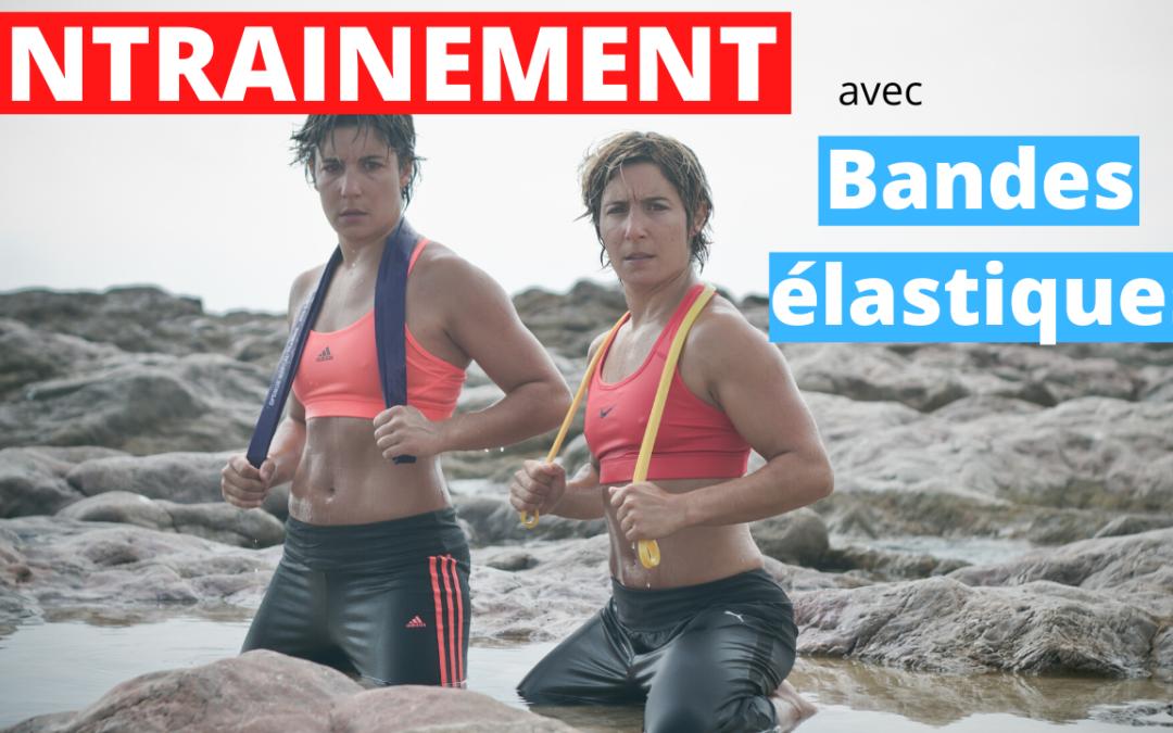 Jessica et Sabrina BUIL ENTRAINEMENT AVEC BANDES ELASTIQUES