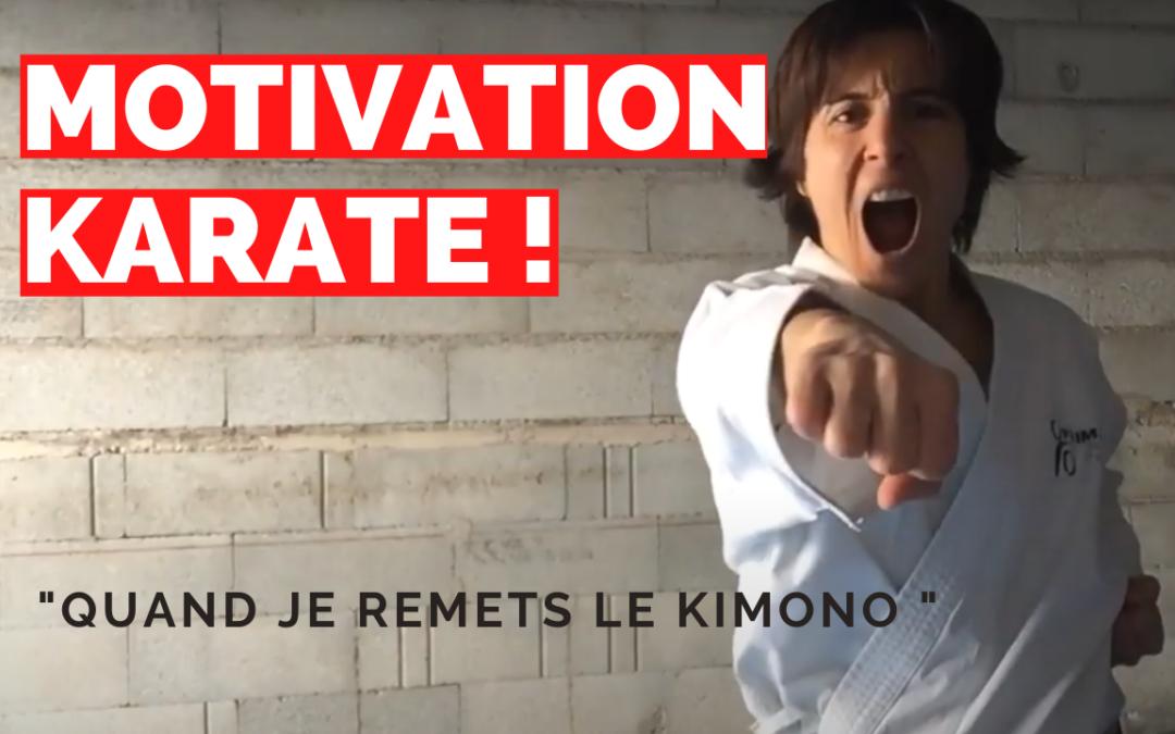 MOTIVATION KARATE : Quand je remets le kimono ! par Jessica et Sabrina BUIL