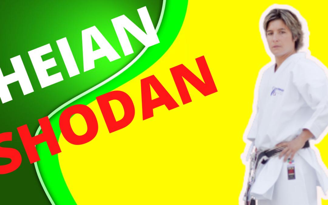 HEIAN SHODAN : le 1er kata de la ceinture noire