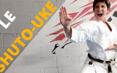 LE SHUTO UKE : blocage latéral du sabre de la main