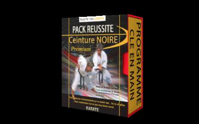 LE PROJET : PACK REUSSITE CEINTURE NOIRE PREMIUM
