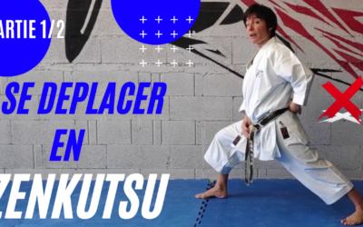 AYUMI ASHI et IKI ASHI ZENKUTSU DASHI – Comment se déplacer à ZENKUTSU DACHI ? – Se déplacer en Karaté KATA Partie1 et 2 – JESSICA SABRINA BUIL