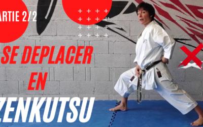 IKI ASHI ZENKUTSU DASHI – Comment se déplacer à ZENKUTSU DACHI ? – Se déplacer en Karaté KATA Partie 2 – JESSICA SABRINA BUIL