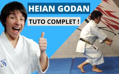 Comment faire le kata HEIAN GODAN : TUTO COMPLET